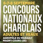 Concours Nationaux Adultes et Veaux les 6, 7 et 8 septembre à Magny-Cours (58)