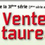 Station d'Evaluation des Etablières (85): vente de Taureaux le vendredi 5 octobre